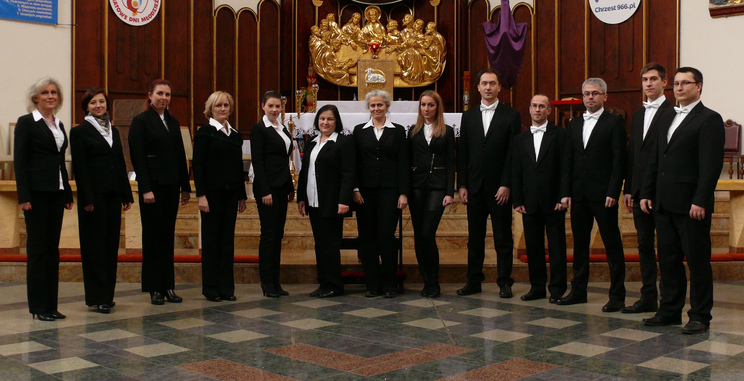 Members of Cantus Animae